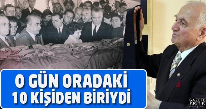Atatürk'ü son gören isim: Yekta Güngör Özden o günü anlattı