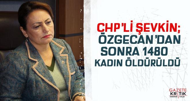ÖZGECAN'DAN SONRA 1480 KADIN ÖLDÜRÜLDÜ