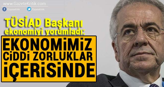 TÜSİAD Başkanı Bilecik: AB ile ilişkilerimize daha fazla özen göstermeliyiz