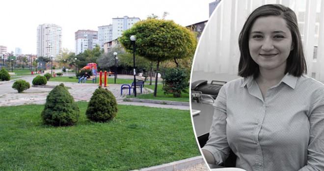 Öğrencisinin öldürdüğü Ceren Damar Şenel'in adı parka verildi