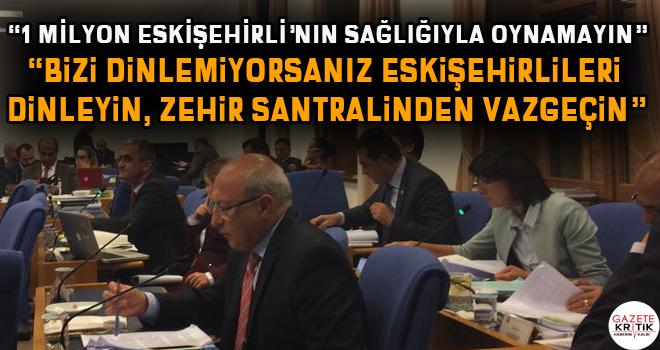 CHP'li Çakırözer'denEnerji Bakanı Sönmez'e 'Alpu'da zehir santrali ısrarından vazgeçin' çağrısı:Yargı kararlarına uyun?