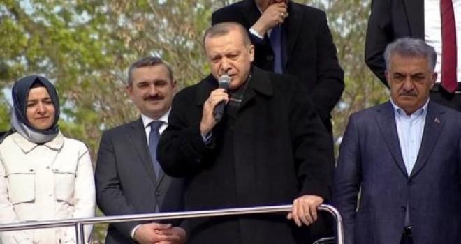 Erdoğan'dan Beykozlulara: 'Tapulu yerlerinizi müteahhitlere vermeyin, KİPTAŞ ile yapalım'