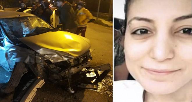 Hatay'da otomobil duvara çarptı: 1 ölü, 3 yaralı