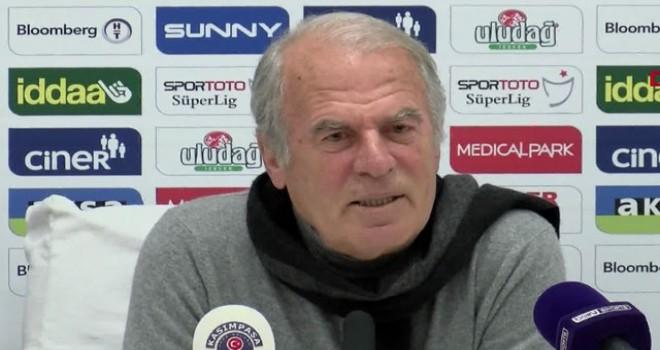 Mustafa Denizli: Sezon başında koyduğumuz hedeflerden geri düşmedik