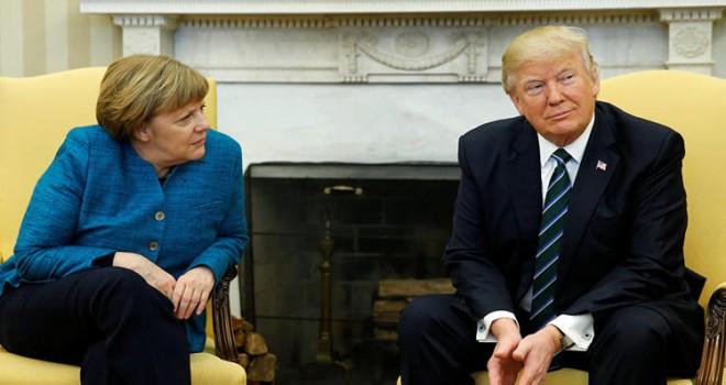 Merkel'den Trump'a gönderme: 'Önce Amerika' derseniz, size kimse inanmaz