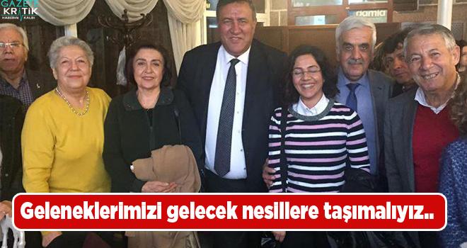 CHP'li Gürer: Geleneklerimizi gelecek nesillere taşımalıyız..