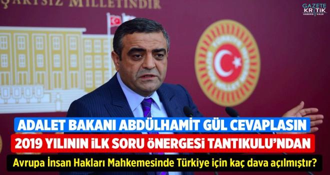 2019 YILININ İLK ÖNERGESİ SEZGİN TANRIKULU'NDAN! AİHM'de Türkiye için kaç dava açılmıştır?