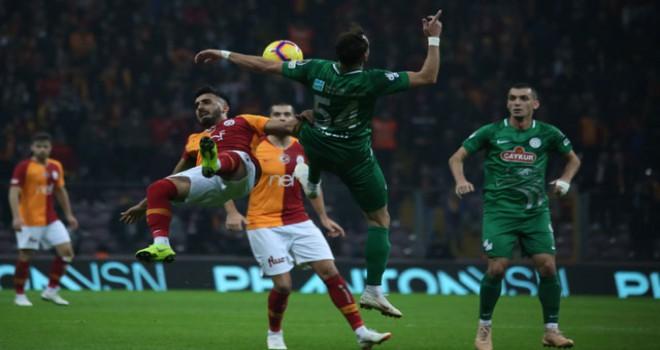Galatasaray-Çaykur Rizespor berabere kaldı