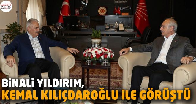 Binali Yıldırım, Kemal Kılıçdaroğlu ile görüştü