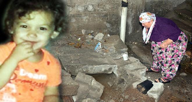 İstinat duvarının altında kalan küçük Elif ağır yaralandı