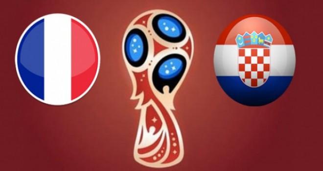 Fransa 1-1 Hırvatistan