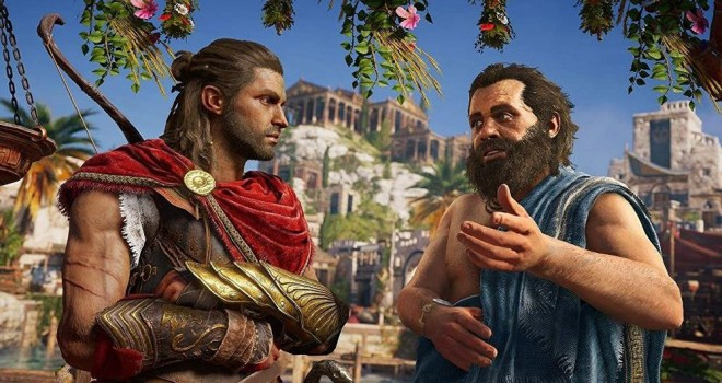 Assassin's Creed'den Trump'a gönderme: 'Atina'yı Yeniden Büyük Yap'