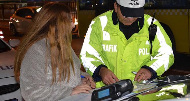 İstanbul'da yılın ilk trafik cezaları