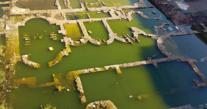 'Mutlak korunması gereken alan' suya gömüldü