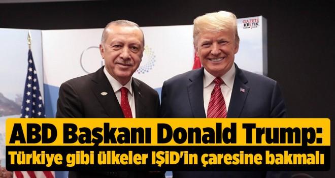 Trump: Türkiye gibi ülkeler IŞİD'in çaresine bakmalı