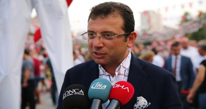İmamoğlu: Randevu talep etmeden önce Kılıçdaroğlu'ndan izin aldım