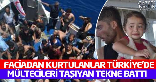 Mültecileri taşıyan tekne battı, 19 kişi hayatını kaybetti