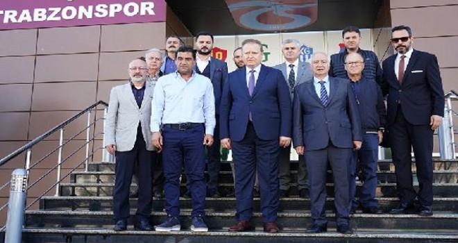 Vali Yavuz'dan Trabzonspor'a veda ziyareti