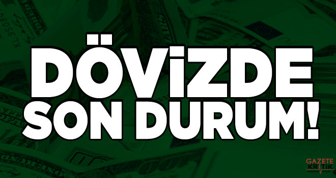 Dolar 5.29, euro 6.08 ve sterlin 6.76 lirada