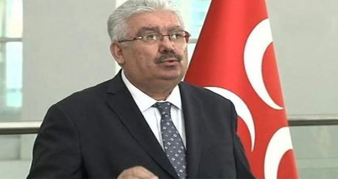 MHP'li Yalçın'dan 'ittifak' açıklaması