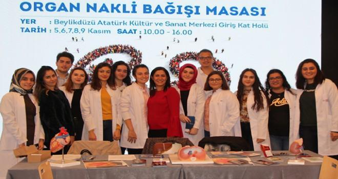 Üniversite öğrencileri bir günde 150 kişiyi organ bağışçısı yaptı