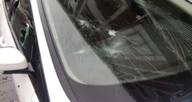Başakşehir'de yol verme kavgası kanlı bitti: 1 yaralı