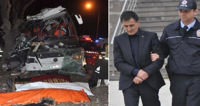11 kişinin öldüğü tur otobüsü kazasında, şoföre 22,5 yıl hapis talebi