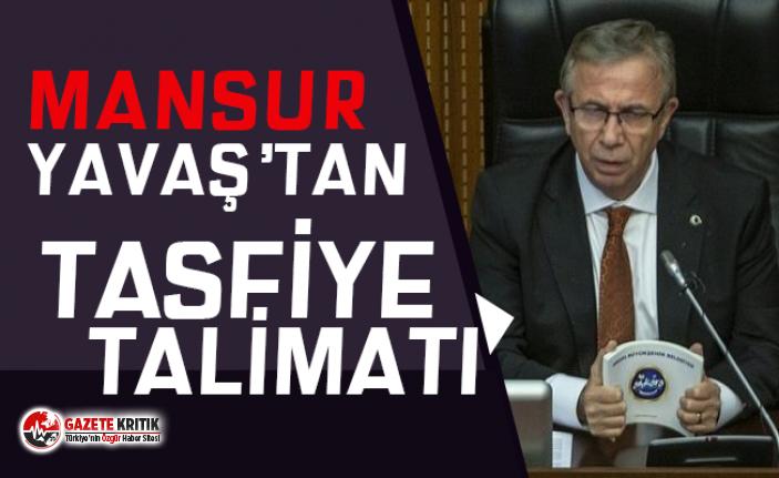 Ankara Büyükşehir Belediye Başkanı Yavaş: Şirketlerin birçoğunun tasfiyesi için talimat verdim