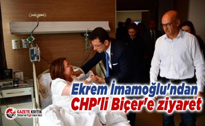 Ekrem İmamoğlu'ndan CHP'li Biçer'e ziyaret