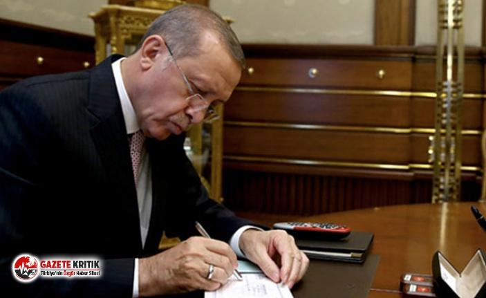 Erdoğan imzaladı: Koltuğa o isim atandı