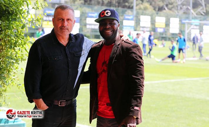 Fenerbahçe antrenmanında Johnson sürprizi
