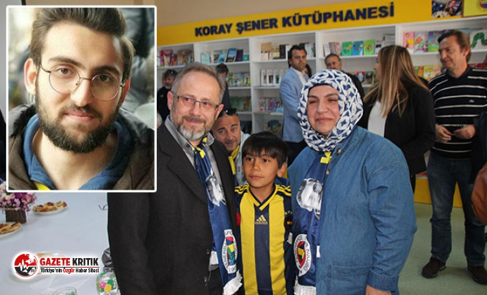 Fenerbahçe taraftarı Koray Şener'in adı kütüphanede yaşayacak