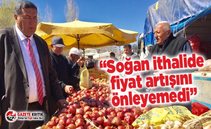 Gürer: Yabancı şirketleri ve yabancı çiftçiyi kalkındırmak için çalışan bir iktidar var.