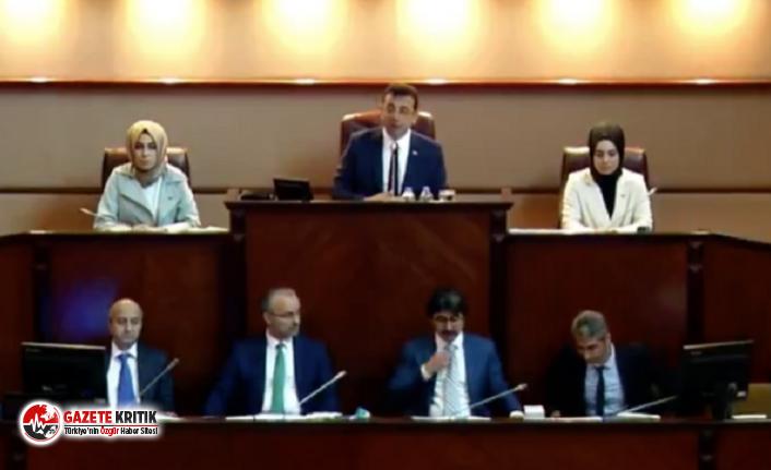 İmamoğlu yönetimindeki ilk İBB meclis toplantısı canlı yayınlandı