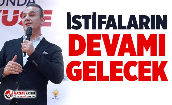 İstifa eden AK Parti İzmir İl Başkanı Şengül: Başlangıcı ben yapıyorum, bu revizyonun devamı gelecek