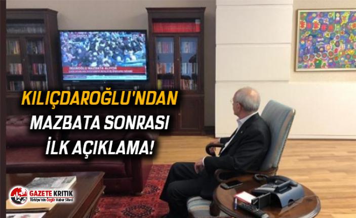 Kılıçdaroğlu'ndan mazbata sonrası ilk açıklama!