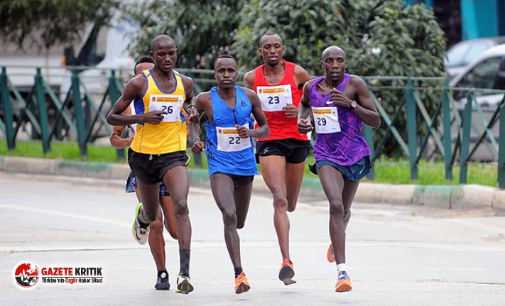Osmangazi Yarı Maratonu'na Kenyalılar damga vurdu