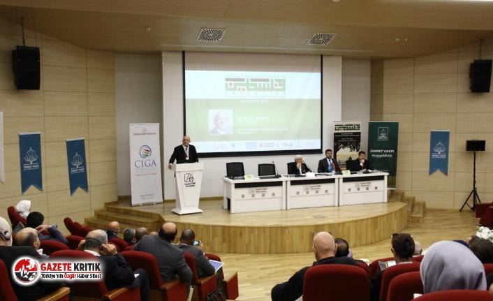 Prof. Dr. Nasuh Uslu: Filistinlilerin varlığı unutulmuş gibi davranılıyor