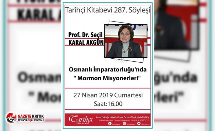 Prof. Dr. Seçil Karal Akgün söyleşisi Tarihçi Kitabevi'nde