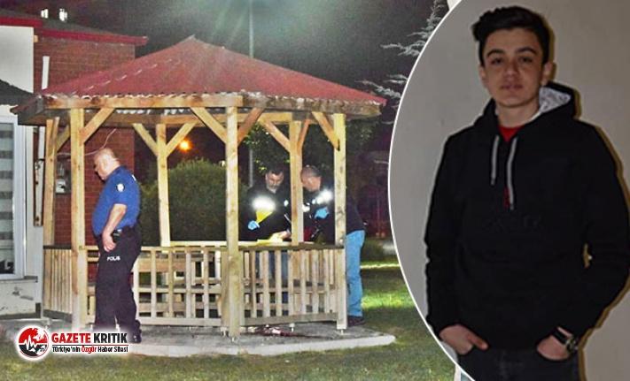 16 yaşındaki Dilaver'i parkta tüfekle vurup, öldürdüler