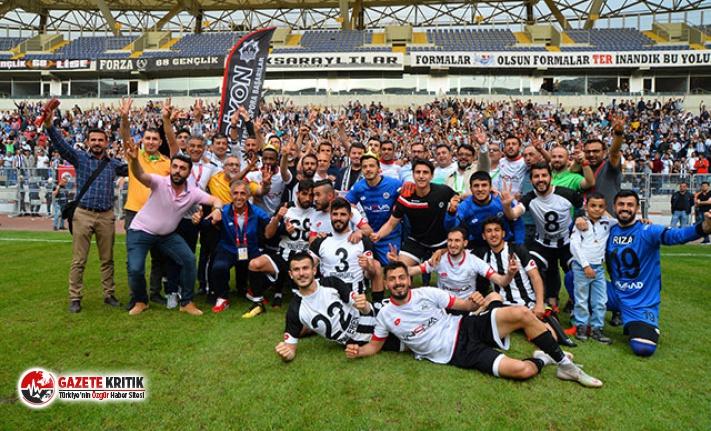 68 Aksaray Belediyespor TFF 3'üncü Lig'de