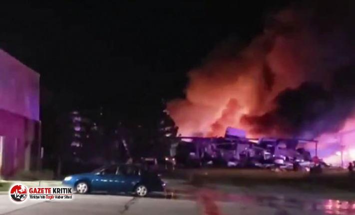 ABD'de kimya fabrikasında patlama