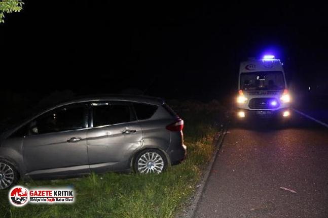 Adıyaman'da iki otomobil çarpıştı: 3 yaralı