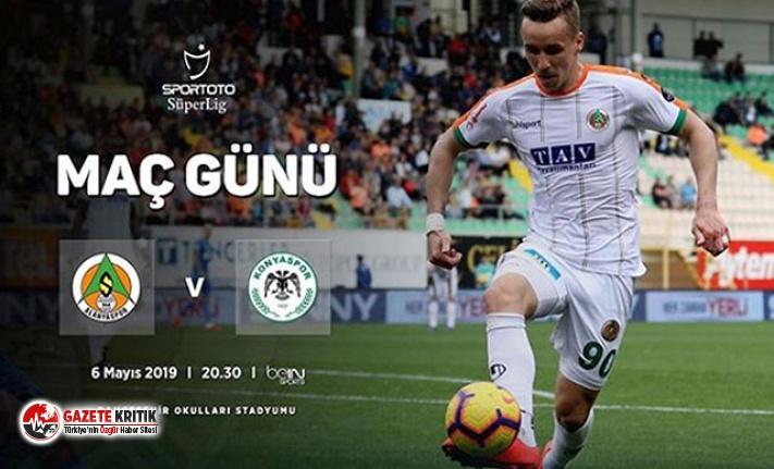 Aytemiz Alanyaspor-Atiker Konyaspor maçında Josef Sural hazırlığı