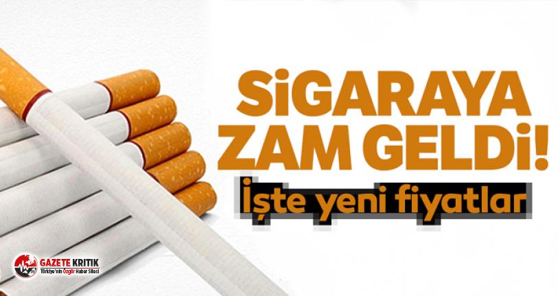 Bazı sigaralara zam geldi