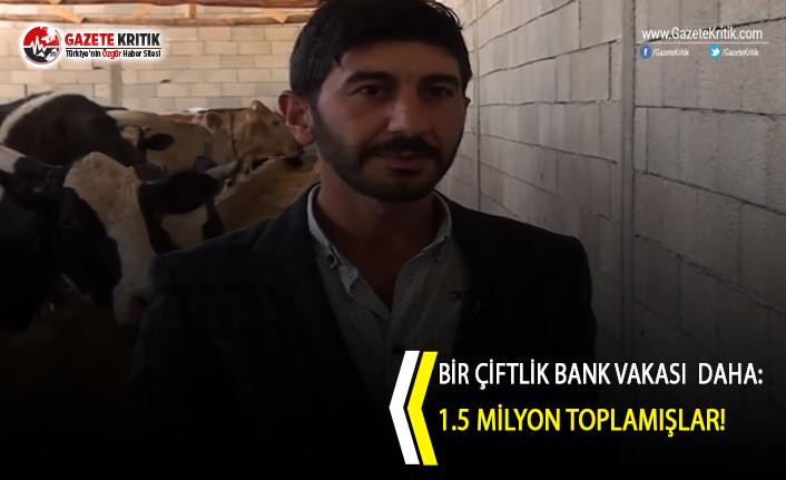 Bir Çiftlik Bank vakası  daha: 1.5 milyon toplamışlar!