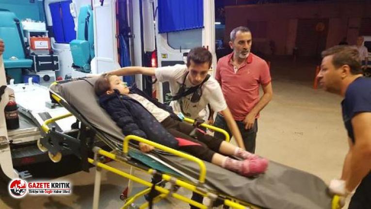 Bursa'da, apartmandaki yangında dumandan etkilenen 14 kişi hastaneye kaldırıldı