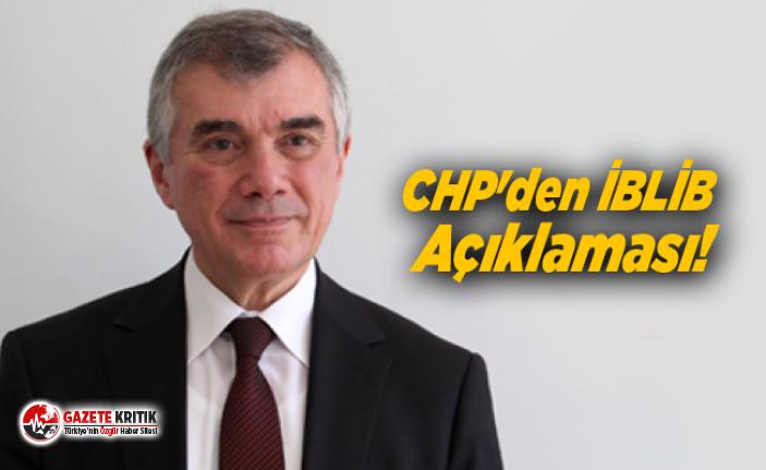 CHP'den İBLİB Açıklaması!