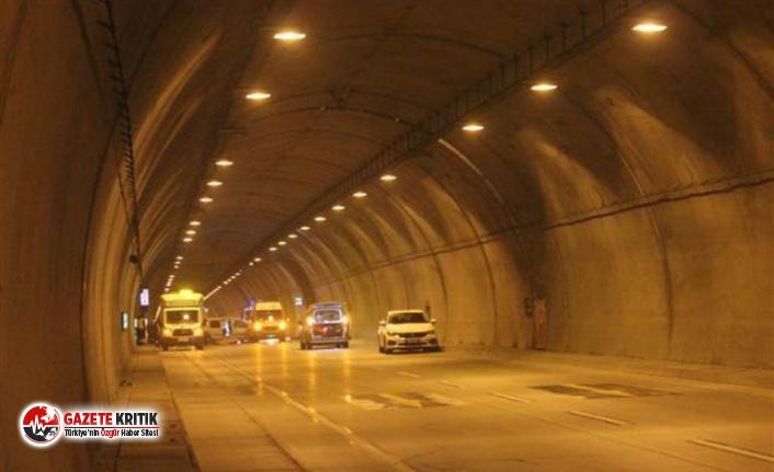 Dolmabahçe Tüneli'nde kaza: 1 ölü