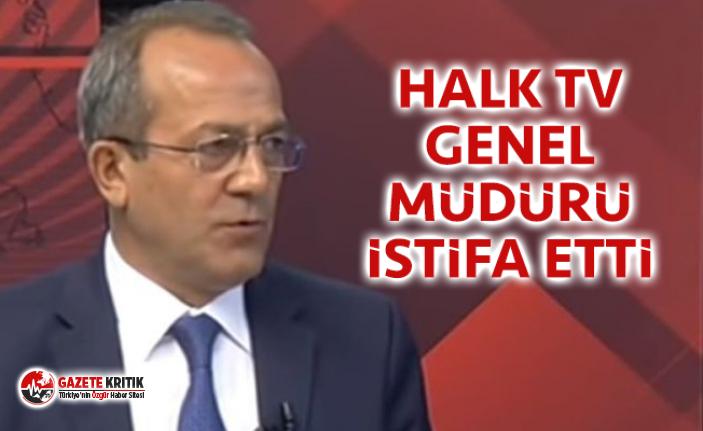 Halk TV Genel Müdürü Sevinç istifa etti